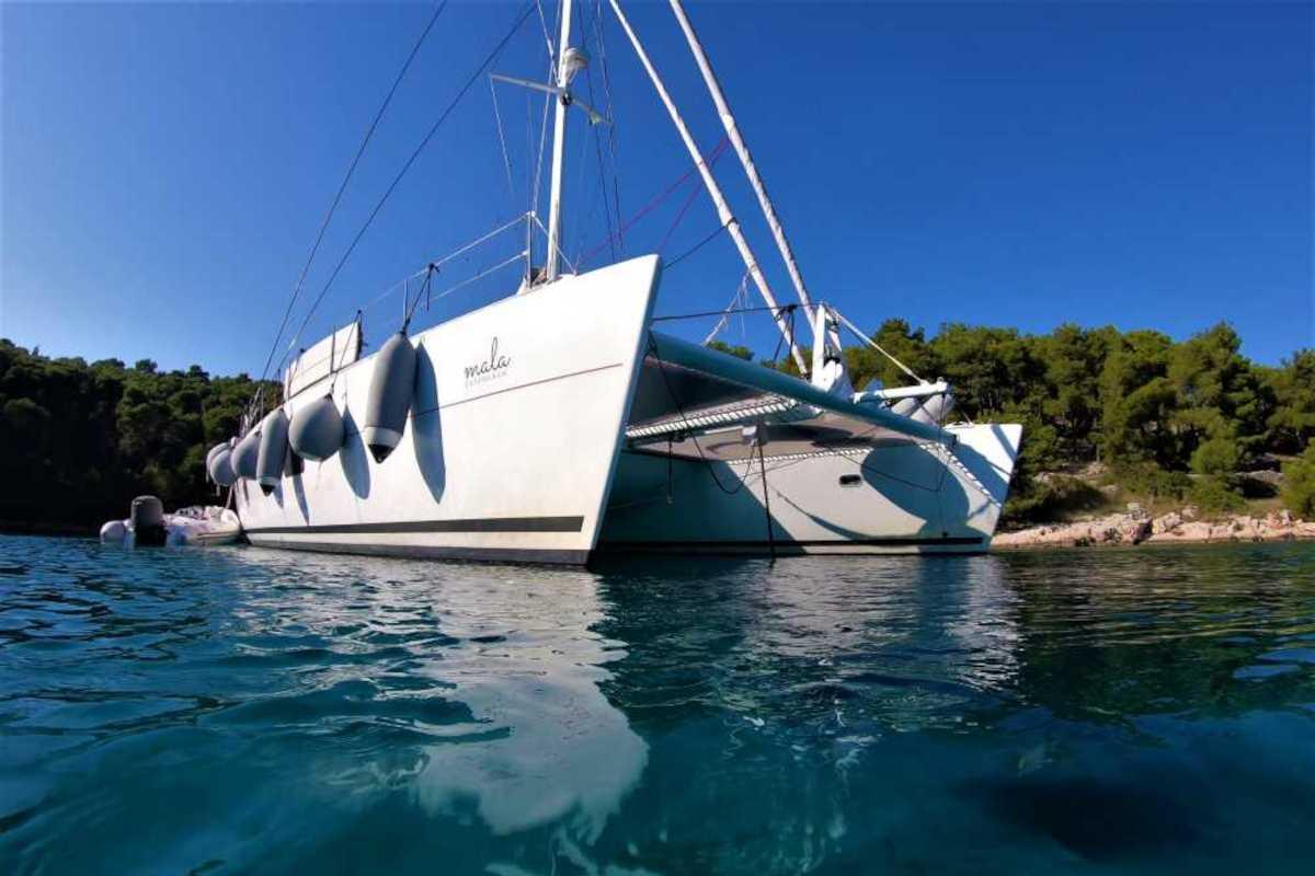 "Our weekend onboard Lagoon 570 ""Mala"""