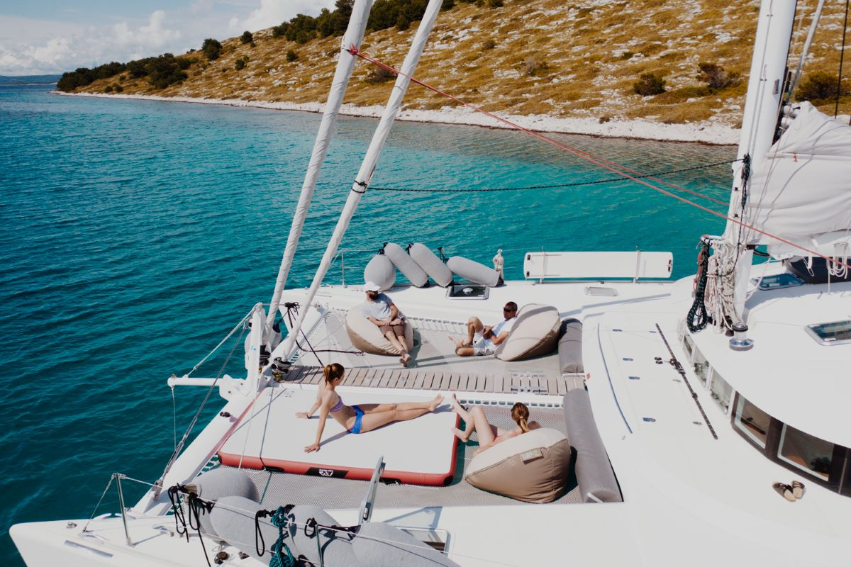 "Lagoon 570 ""Mala"" - One of the TOP crewed catamarans in Croatia"