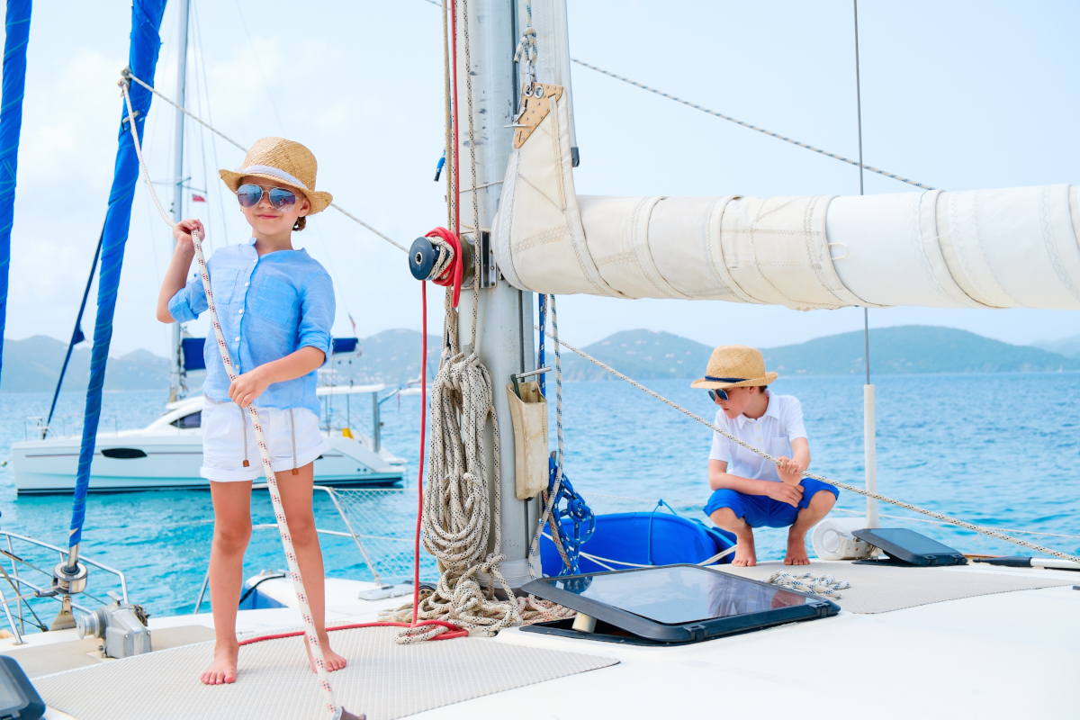 TIPS for Sailing with Children