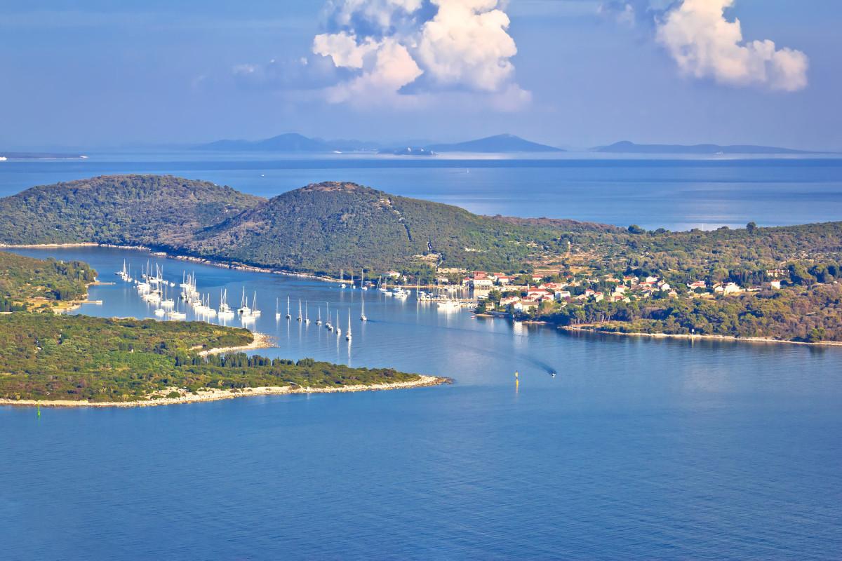 Ilovik Island and St. Peter Island