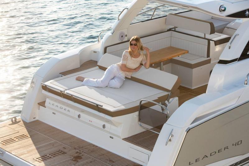 Motor yacht Jeanneau Leader 40, charter with skipper from Split