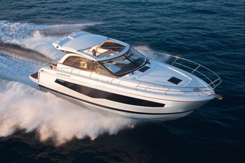 Motor yacht Jeanneau leader 40, rent from Split, Croatia