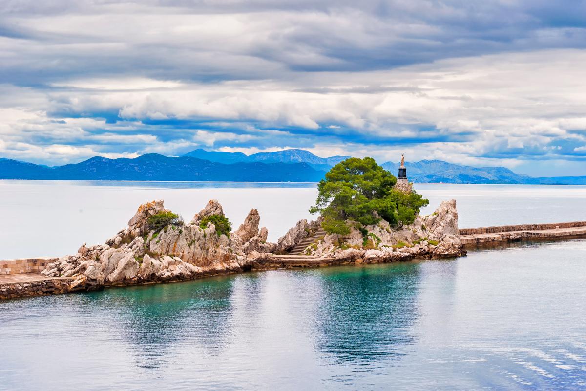 14 days sailing route Split – Dubrovnik – Split