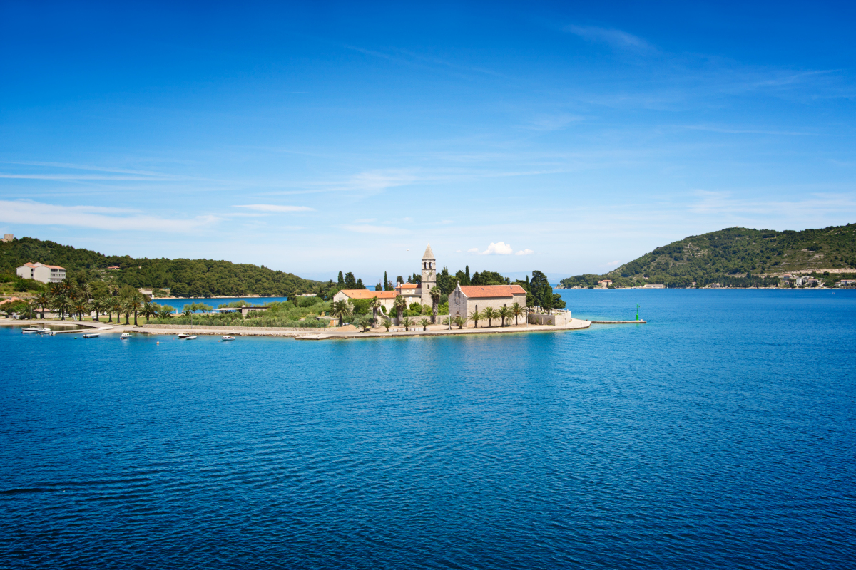 3 days sailing route from Trogir / Split