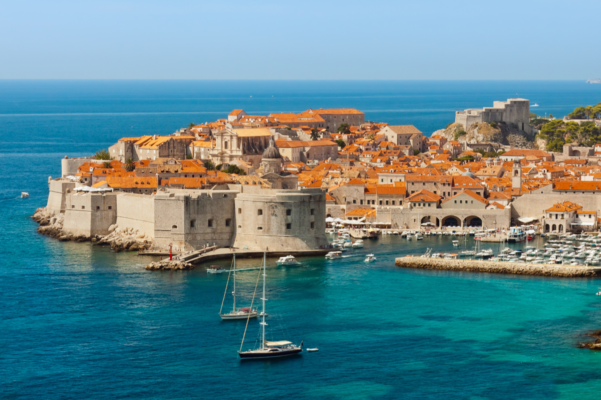 ONE WAY sailing route Split – Dubrovnik