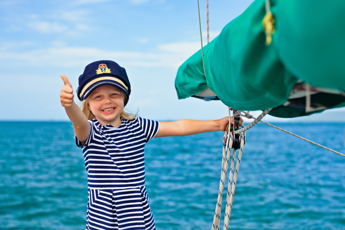 Sailing with children Itinerary