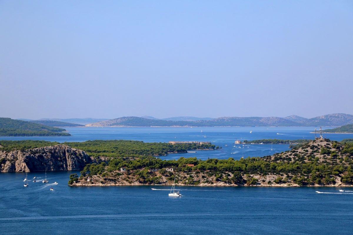 Šibenik Sailing Route North - 7 days