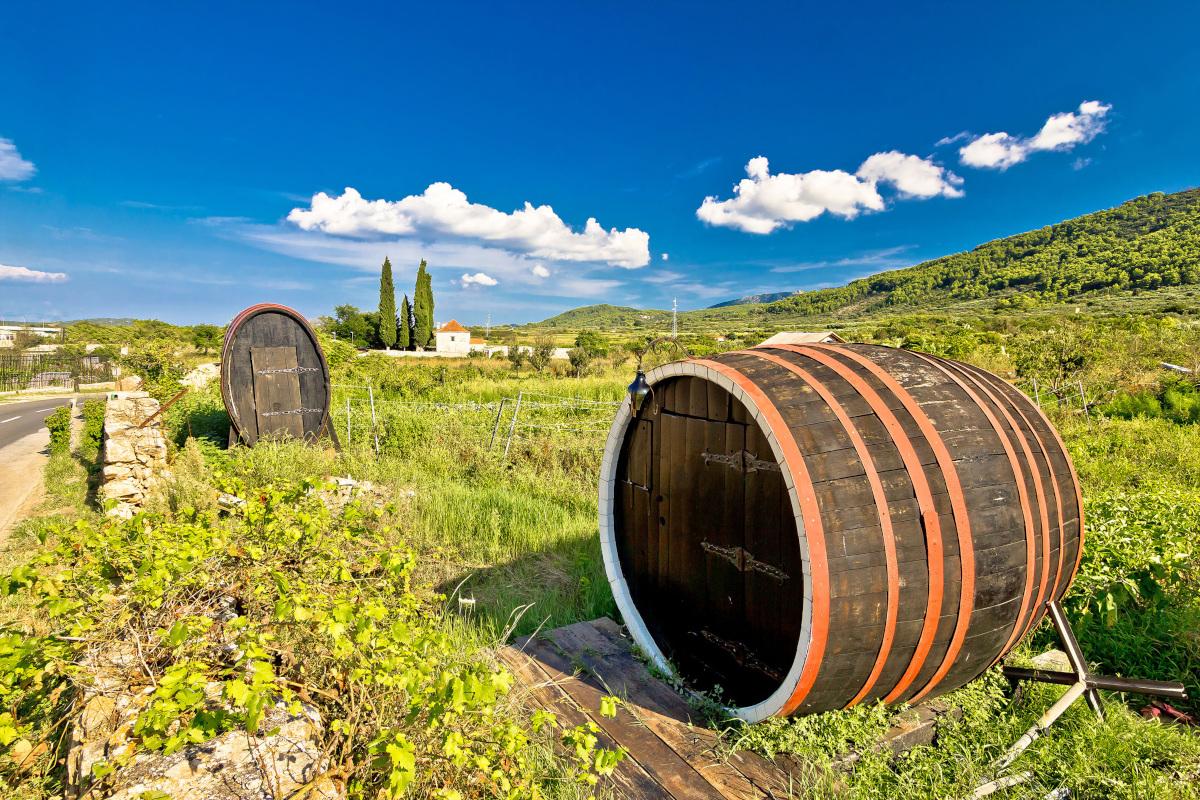 Wine Tasting Itinerary from Split & Trogir I 7 days sailing