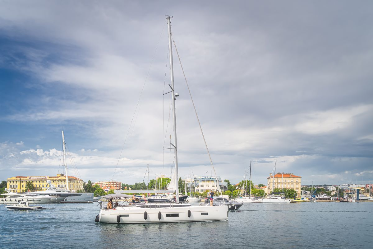 Zadar Sailing Route South - 7 days