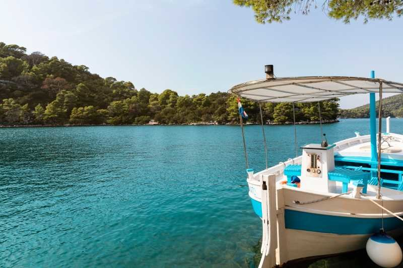 Private boat trip from Dubrovnik to National Park Mljet