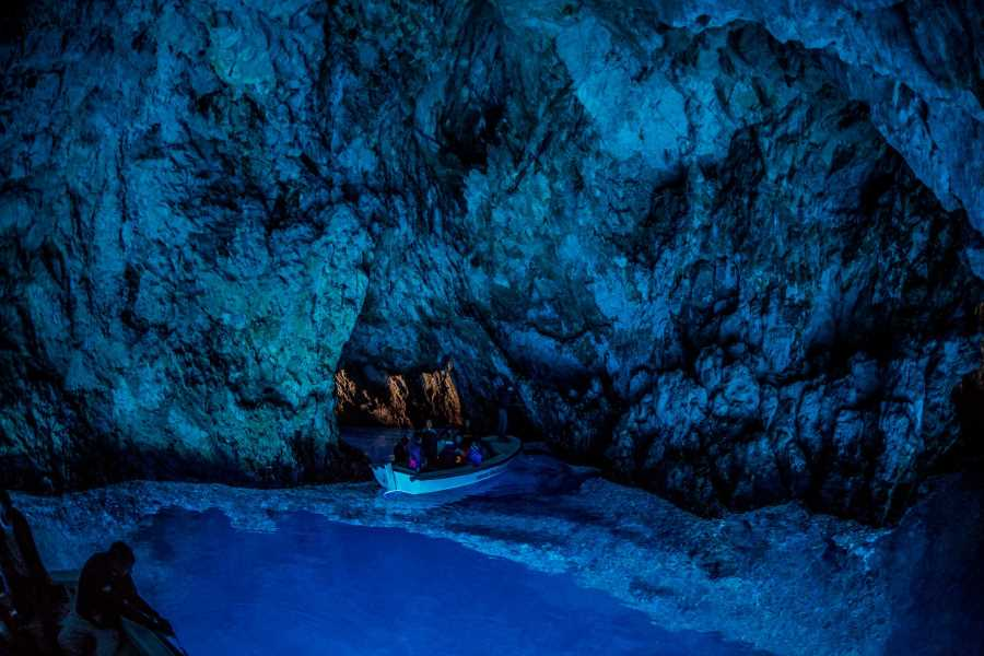 Blue Cave and Hvar boat tour from Trogir and Split
