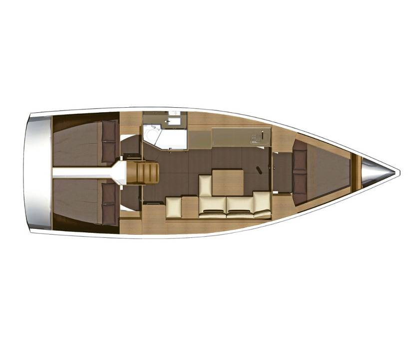 Dufour 382 GL Diniva II