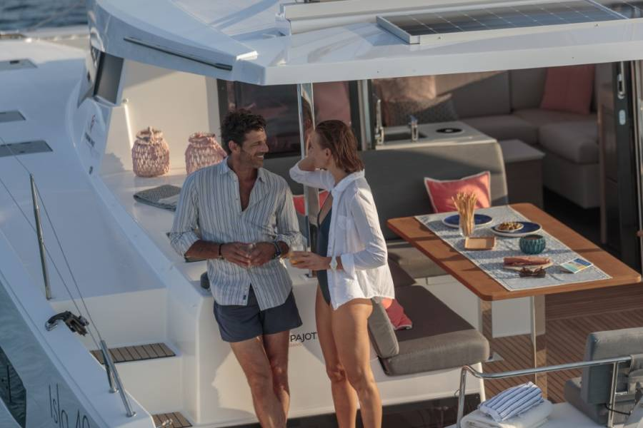 Fountaine Pajot Isla 40 Island Escape with AC and generator
