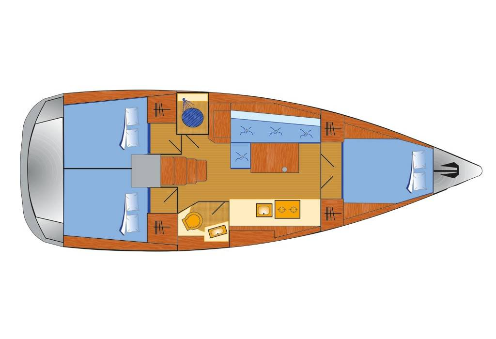 Oceanis 38.1 Flip