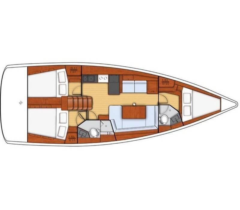 Oceanis 41.1 Porterusa