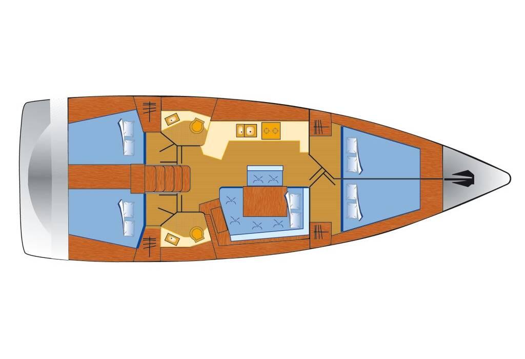 Oceanis 45 Phantom